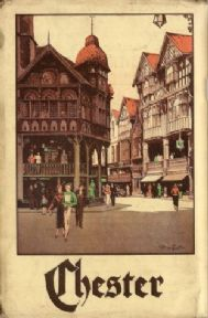 Vintage English poster - Chester 1935